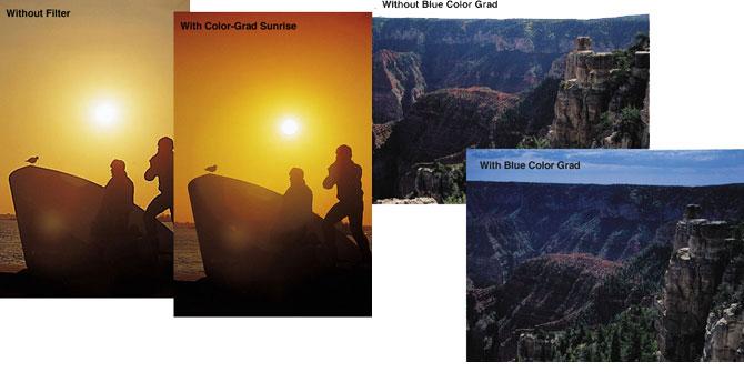 Tiffen 55mm Graduated Sunrise Filter